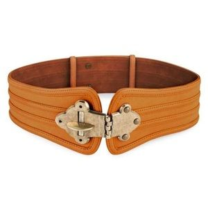 BCBMAXAZRIA Turn-Lock Waist Belt (REAL LEATHER)